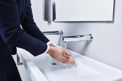 Oras Electra gør det nemt, at holde hygiejnen i top.