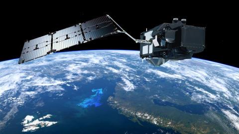 Rymdteknologi från RUAG Space i nästa miljösatellit