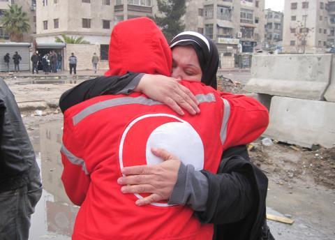 Röda Korset vädjar till parterna i Syrien att genast finna humanitära lösningar