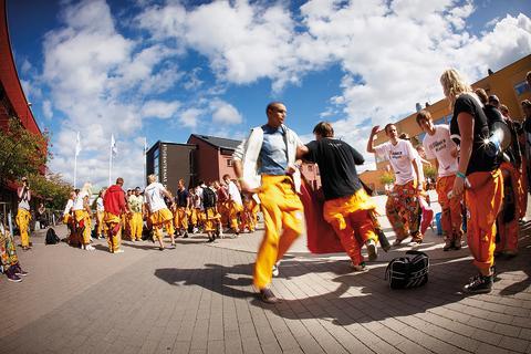 Nytt läsår, nya studenter och ny kostym för Jönköping University