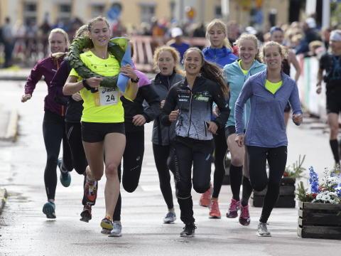 Forest runners Team Finspång dam vann Vasastafettens damklass 2017