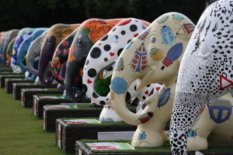 Elephant Parade in London, 2010