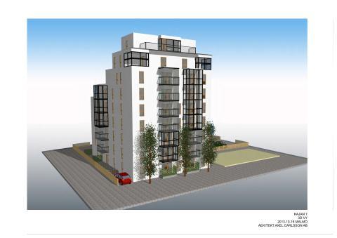 Miljö- och byggnadsnämnden beviljar bygglov för nytt landmärke i Vellinge