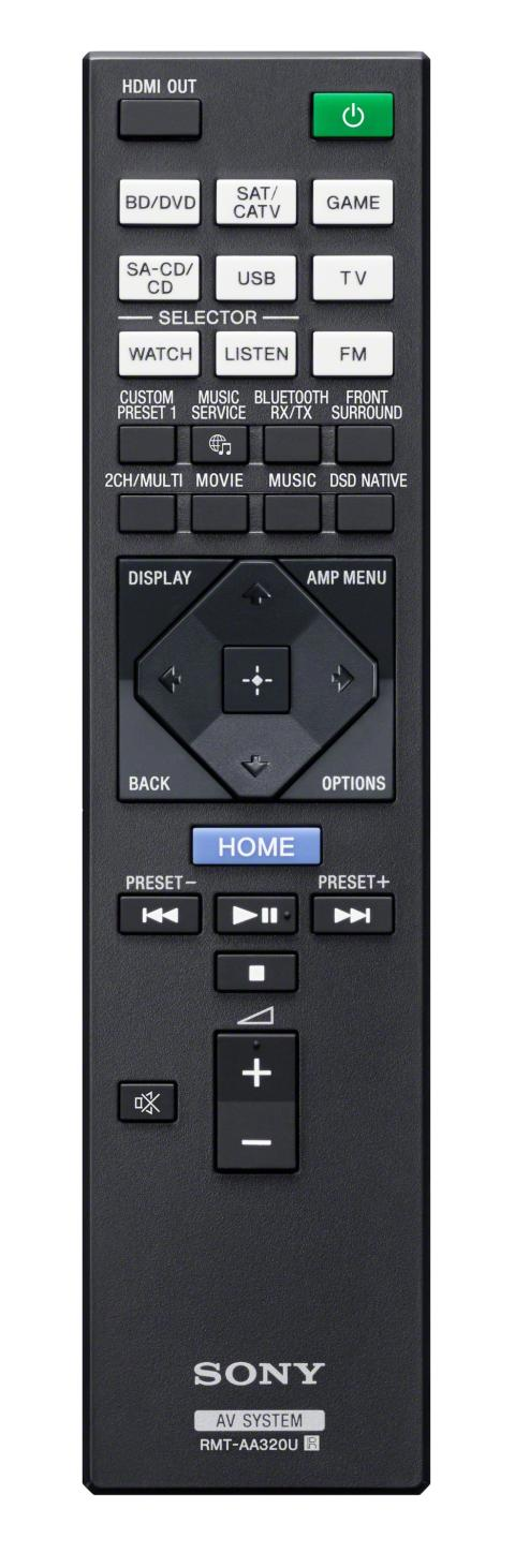 Fernbedienung RMT-AA320U von Sony