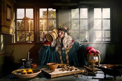 Benjamin Boe som Juleånden