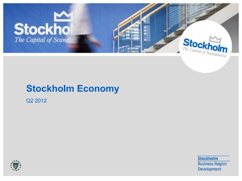 Stockholm Economy Q2 2012