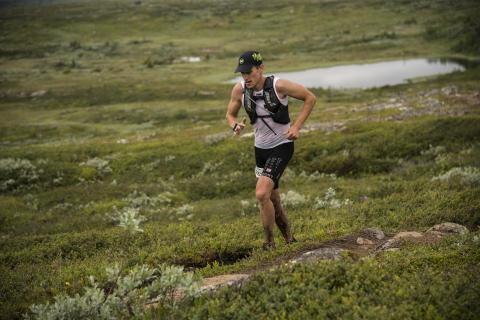 Andreas Svanebo imponerade med sin totalt sjunde seger i KIA Fjällmaraton