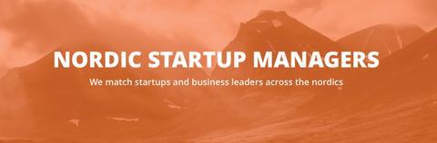 Nordic Startup Managers - Vi matchar tillväxtföretag med företagsledare i hela Skandinavien