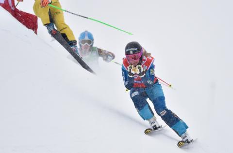World Cup i Skicross på Idre Fjäll