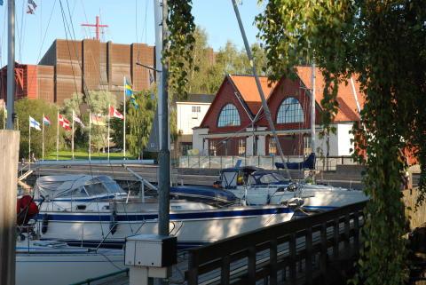 Spritmuseum på Djurgården i Stockholm.