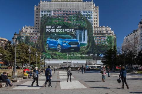 Ford Ecosport Billboard Madrid
