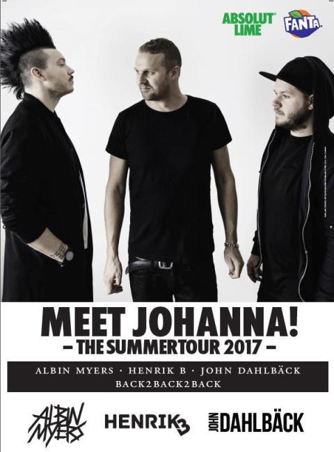 Sommarens turné är här. MEET JOHANNA!