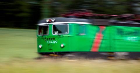 Gästbloggaren: 50 procent mer gods med tåg!