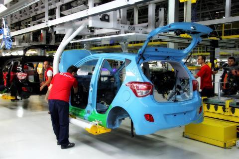 Første Hyundai i10 produsert i Tyrkia