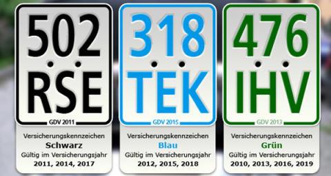 Mofas und Mopeds: Freie Fahrt mit blauen Kennzeichen