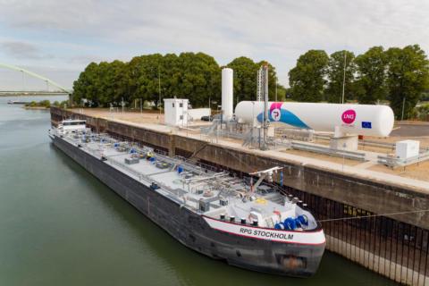 PitPoint eröffnet erste LNG-Bunkeranlage Europas
