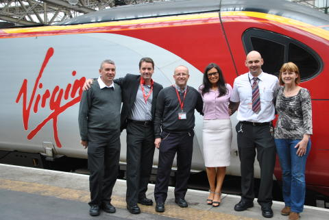 Virgin Trains drivers cycle 200 miles for Yorkhill Children's Hospital