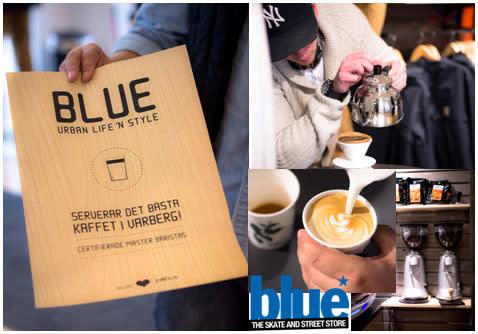 Blue i Varberg sätter Zoégas kaffe i centrum