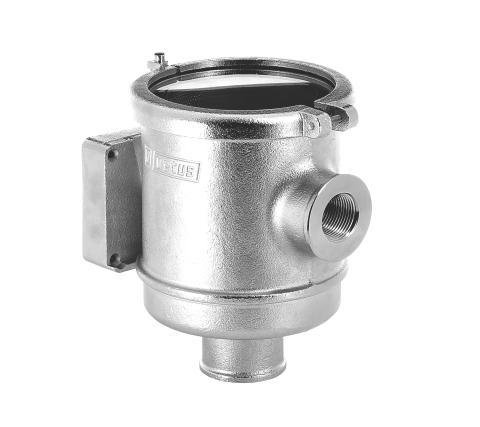 Hi-res image - VETUS - VETUS CWS series cooling water strainer