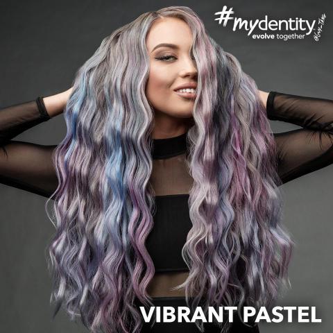 #mydentity vibrant pastel