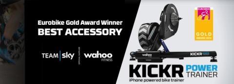 Wahoo Fitness KICKR Power Trainer vinner Eurobike Gold Award