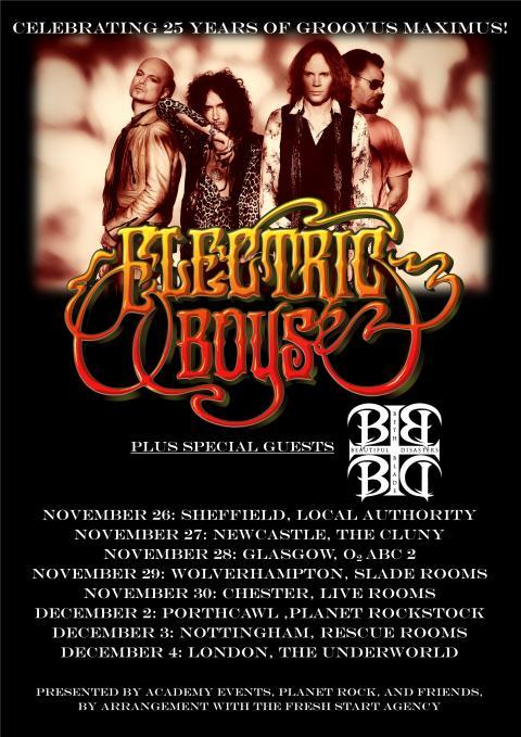 Electric Boys - UK 2017