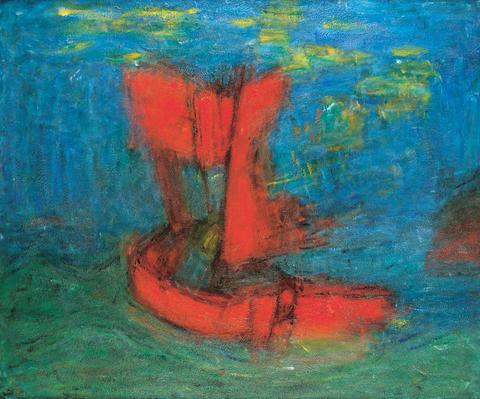 Carl Kylberg, Den flygande holländaren, 1932
