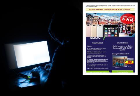 Advarer mot falske epost, SMS og Facebook-sider med tilbud fra Elkjøp