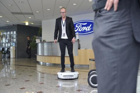 Ford ved Innovation Workshop 2016