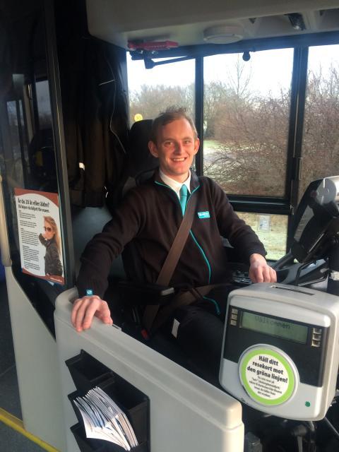 Har Arriva Sveriges yngsta bussförare?