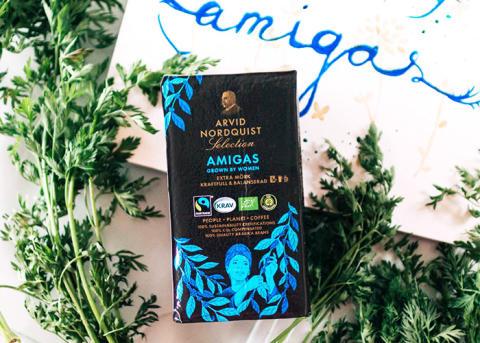 AMIGAS - Kaffet som stöttar kvinnliga kaffeodlare