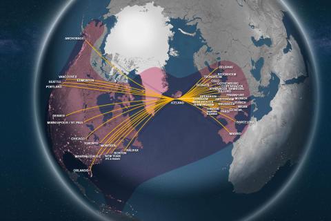 Wi-Fi globe Icelandair