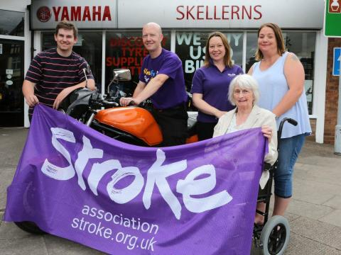 ​Worcester resident is embarking on a 2,600 mile motorcycle trip to raise funds for the Stroke Association