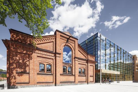 Kungl. Musikhögskolans nya campus 2016. Foto: Ola Fogelström.