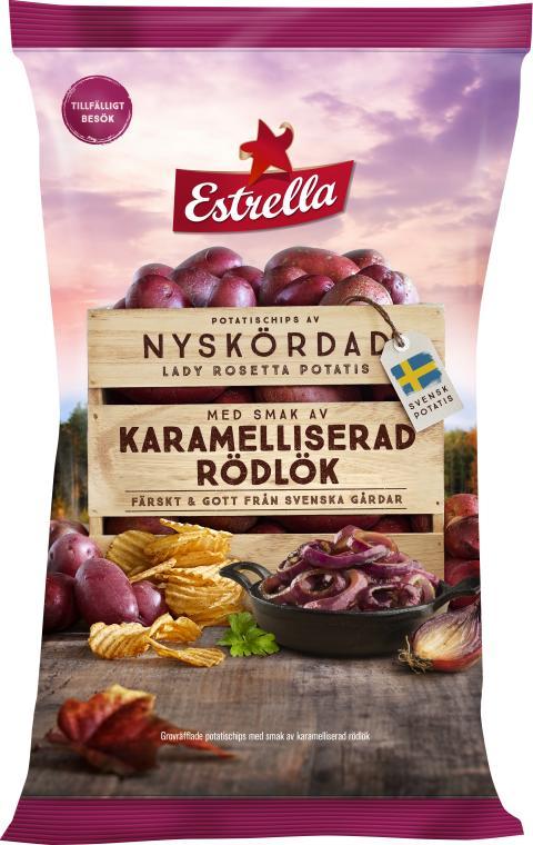 Estrella LTD Karamelliserad Rödlök 250g