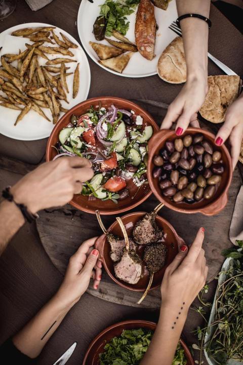 Danskere på sommerferie: Tapas er in - burgeren out