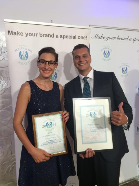 European HEALTH & SPA AWARD 2016 für das Luxury DolceVita Resort Preidlhof in Südtirol