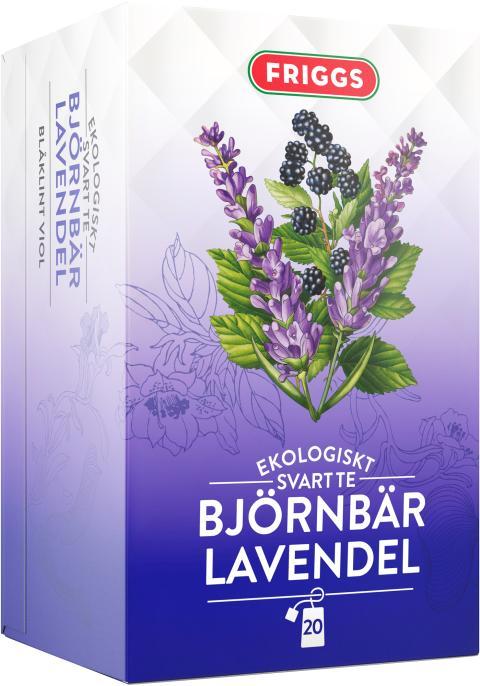 Friggs Te Björnbär Lavendel