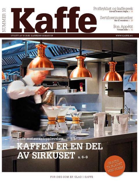 Nytt, aktuelt KAFFE-magasin ute