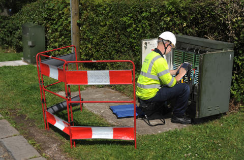 Superfast Staffordshire is 'at Loggerheads' - as 500th fibre broadband cabinet goes 'live'