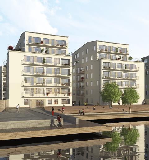 Skanska bygger miljöriktigt rättscentrum i Örebro åt Norrporten för 255 miljoner kronor