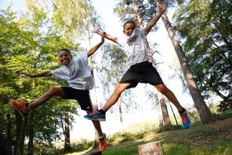 Bild skolklassikern - löpning
