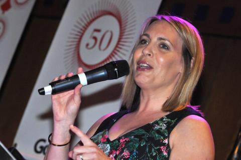 BBC Radio Newcastle's Lisa Shaw compered the evening