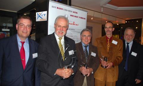 Professor Spörer mit NiBB-Preis 2013 für Bildung und soziale Innovation geehrt