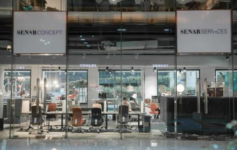 Senab showroom Shanghai