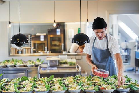 Økologi hitter i de danske storkøkkener