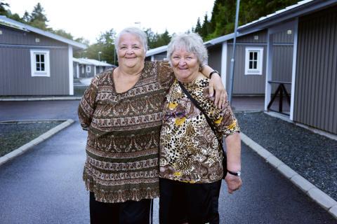 Gunnel och Maritta, Ullared. FOTO: MARIA ÖSTLIN/KANAL 5