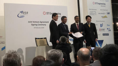 ST Engineering in joint venture with DSO for satellite analytics, new space technologies