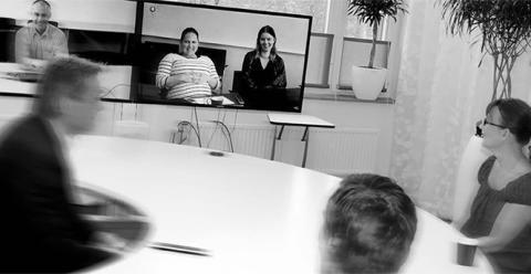 Handbok för möten med telepresence