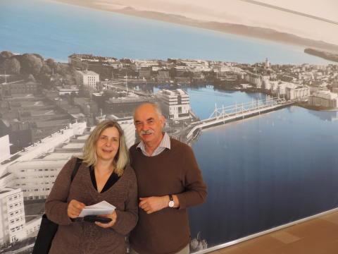 Nöjda tyska gäster på besök i Småland och Jönköping